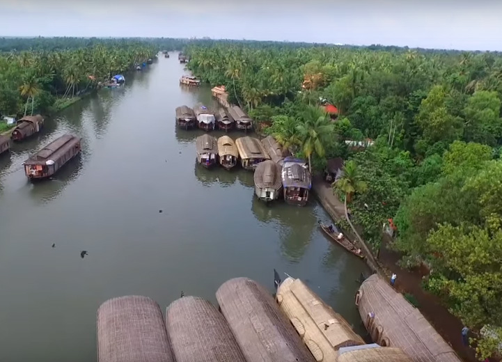Aleppey Backwaters Kerala